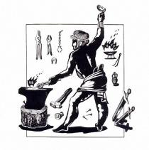 Художественная обработка металла в древнем мире