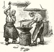 Художественная обработка металла в средние века