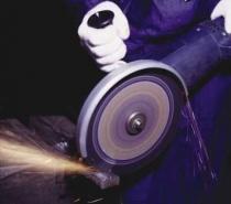 резка металла дисковой пилой